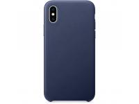 Husa Piele OEM pentru Apple iPhone 7 Plus / Apple iPhone 8 Plus, Bleumarin