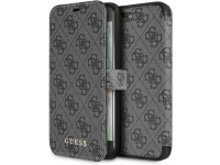 Husa Plastic - TPU Guess 4G Book pentru Apple iPhone 7 Plus / Apple iPhone 8 Plus, Gri GUFLBKI8L4GG