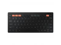 Tastatura Wireless Samsung Smart Keyboard Trio 500, Bluetooth, Neagra EJ-B3400UBEGEU
