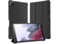 Husa Tableta Piele - Poliuretan DUX DUCIS Domo pentru Samsung Galaxy Tab A7 Lite T220, Neagra