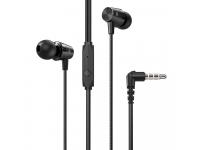 Handsfree Casti In-Ear HOCO M79 Cresta, Cu microfon, 3.5 mm, Negru