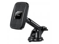 Incarcator Auto Wireless HOCO CA75, Quick Charge, 15W, Negru
