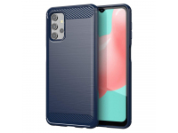 Husa TPU OEM Carbon pentru Samsung Galaxy A32 LTE A325, Albastra