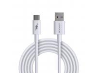 Cablu Date si Incarcare USB la USB Type-C Joyroom S-1050M7, 1 m, 45 W, Alb