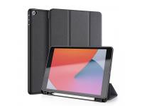 Husa Tableta Piele - Poliuretan DUX DUCIS Domo pentru Apple iPad 10.2 (2019) / Apple iPad 10.2 (2020), Neagra