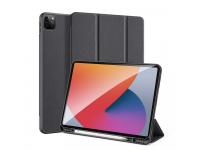 Husa Tableta Piele - Poliuretan DUX DUCIS Domo pentru Apple iPad Pro 12.9 (2021), Neagra
