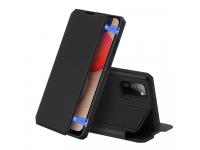 Husa Piele DUX DUCIS Skin X pentru Samsung Galaxy A02s A025F, Neagra