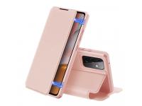 Husa Piele DUX DUCIS Skin X pentru Samsung Galaxy A72 4G, Roz