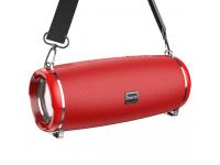 Boxa Portabila Bluetooth HOCO HC2 Xpress Sports, TWS, Iluminare Led, Rosie