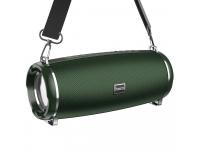 Boxa Portabila Bluetooth HOCO HC2 Xpress Sports, TWS, Iluminare Led, Verde