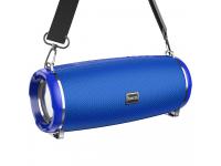 Boxa Portabila Bluetooth HOCO HC2 Xpress Sports, TWS, Iluminare Led, Albastra