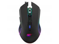 Mouse Wired USB HAVIT MS1018, GAMENOTE, RGB, 1000-3200 DPI, Negru