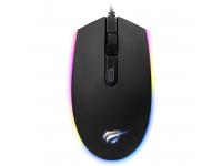 Mouse Wired USB HAVIT MS1003, GAMENOTE, RGB, Negru