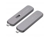 Rack Extern USB BlitzWolf pentru SSD M.2, 5Gbps, USB-C 3.1, Argintiu BW-SSDE4