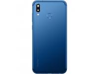 Capac Baterie - Geam camera spate - Senzor Amprenta Huawei Honor Play, Albastru 02351YYE