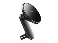 Incarcator Auto Wireless Baseus Big Energy, MagSafe, 15W, Quick Charge, Negru WXJN-01