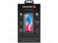 Folie Protectie Ecran Swissten pentru Apple iPhone 12 / Apple iPhone 12 Pro, Sticla securizata, Full Face, Full Glue, 0.2mm, 3D, 9H, Neagra