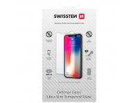 Folie Protectie Ecran Swissten pentru Apple iPhone X / Apple iPhone XS, Sticla securizata, Full Glue, 0.3mm, 2.5D, 9H