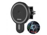 Incarcator Auto Wireless Dudao F13, Quick Charge, 15W, MagSafe, Negru