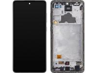 Display - Touchscreen Samsung Galaxy A72 4G, Cu Rama, Negru GH82-25460A