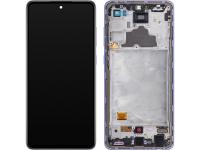 Display - Touchscreen Samsung Galaxy A72 4G, Cu Rama, Mov GH82-25460C