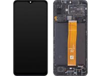 Display - Touchscreen Samsung Galaxy M12, Cu Rama, Negru GH82-25042A