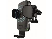 Incarcator Auto Wireless Swissten S-GRIP W2-AV5, Quick Charge, 15W, Negru