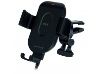 Incarcator Auto Wireless Swissten S-GRIP GW1-AV5, Quick Charge, 15W, Negru