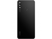 Capac Baterie - Geam Camera Spate - Senzor Amprenta Huawei nova 3i, Negru 02352CAH