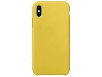 Husa TPU OEM Pure Silicone MP pentru Samsung Galaxy A02s A025F, Galbena
