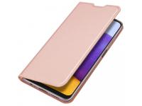 Husa Poliuretan DUX DUCIS Skin Pro pentru Samsung Galaxy A22 5G, Roz Aurie