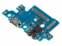 Placa Cu Conector Audio - Conector Incarcare / Date - Microfon Samsung Galaxy A40 A405, Swap
