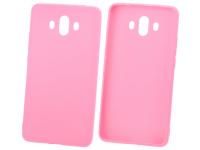 Husa TPU OEM Candy pentru Samsung Galaxy A12 A125, Roz Deschis