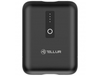 Baterie Externa Powerbank Tellur PD101, 10000 mA, Quick Charge 3.0 / Power Delivery (PD), Neagra TLL158291