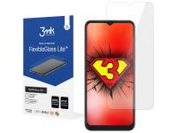 Folie Protectie Ecran 3MK FlexibleGlass Lite pentru Motorola Moto G9 (India) / Motorola Moto G9 Play, Sticla Flexibila, 0.16mm
