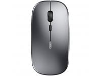 Mouse Wireless Inphic PM1BS, WiFi 2.4 Ghz / Bluetooth 5.0 / 3.0, Argintiu