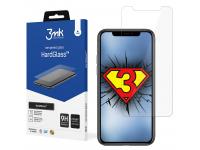 Folie Protectie Ecran 3MK HardGlass pentru Apple iPhone X / Apple iPhone XS / Apple iPhone 11 Pro, Sticla securizata, 9H