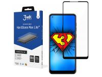 Folie Protectie Ecran 3MK HardGlass Max Lite pentru Samsung Galaxy A21s A217, Sticla securizata, Full Face, Full Glue, Neagra