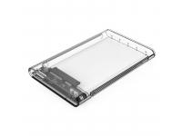 Rack Extern USB Orico 2139U3, HDD / SSD 2.5 inch, SATA, USB 3.0, Transparent