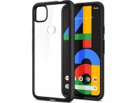Husa Plastic - TPU Spigen ULTRA HYBRID pentru Google Pixel 4a 5G, Matte, Neagra ACS01882