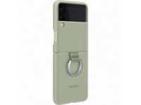 Husa TPU Samsung Galaxy Z Flip3 5G, Ring, Vernil EF-PF711TMEGWW
