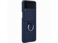 Husa TPU Samsung Galaxy Z Flip3 5G, Ring, Bleumarin EF-PF711TNEGWW