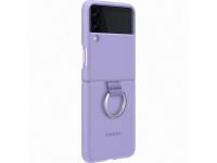 Husa TPU Samsung Galaxy Z Flip3 5G, Ring, Violet EF-PF711TVEGWW
