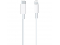 Cablu Date si Incarcare USB Type-C la Lightning Apple, 1 m, Alb MQGJ2ZM