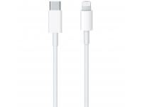 Cablu Date si Incarcare USB Type-C la Lightning Apple, 1 m, Alb MQGJ2ZM/A