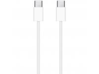 Cablu Date si Incarcare USB Type-C la USB Type-C Apple, 1 m, Alb MUF72ZM