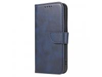 Husa Piele OEM Leather Flip Magnet pentru Samsung Galaxy A32 LTE A325, Bleumarin