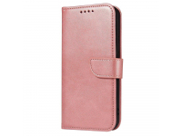 Husa Piele OEM Leather Flip Magnet pentru Samsung Galaxy A42 5G, Roz