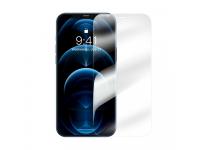 Folie Protectie Ecran Baseus Super Porcelain Crystal pentru Apple iPhone 12 Pro Max, Sticla Securizata, Full Face, Full Glue, 0.3mm, ( Set 2 Bucati), Transparenta SGAPIPH67N-LI02