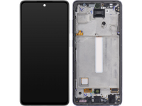 Display - Touchscreen Samsung Galaxy A52 5G, Cu Rama, Negru GH82-25524A